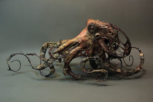 untitled - pacific giant octopus, 2013