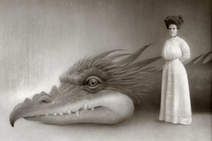 Travis Louie, Miss Miniver and Her Dragon