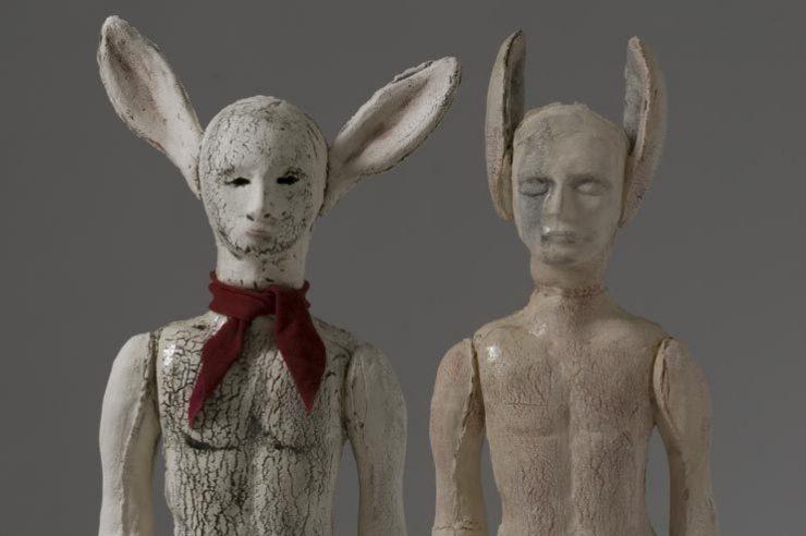 Christie Brown, Elves, 2012, ceramica