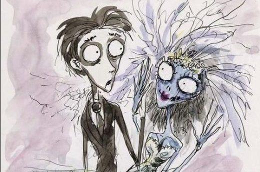 Tim Burton, Victor e Emily, acquarello