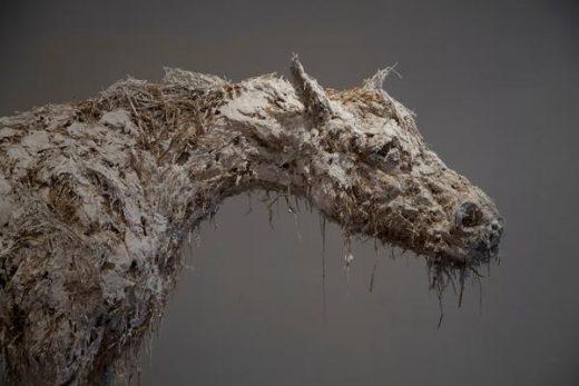Nicola-Hicks,Closed up horse, 2012