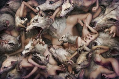 Ryohei Hase, serie repetition, advertising, arte digitale