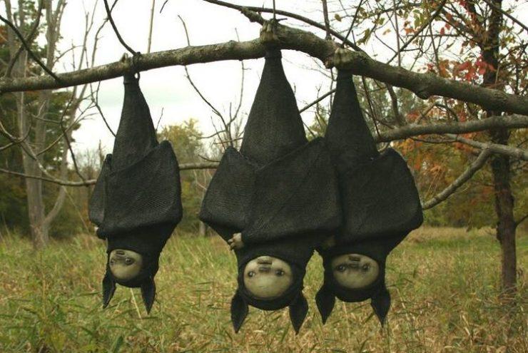 Scott Radke, bats, filo, resina, acrilico