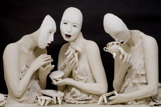 Tea Party, Ronit Baranga, 2007, ceramica